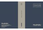 Catálogo MAINZU 2020