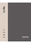 Catálogo MARGRES KERLITE 2021