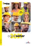 Catálogo WEBER 2021